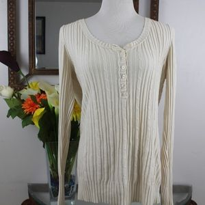 Mossimo Supply Co Womens Long Sleeve Knitted Top